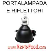 PORTA LAMPADA E RIFLETTORI